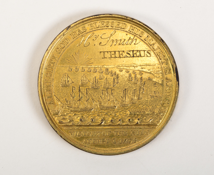 The Davison's Victory of the Nile Medal 1798 N2001