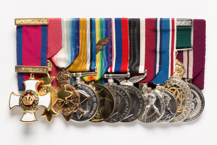 1914-15 Star 1997.77.1.3  [part of set 3rd from right]