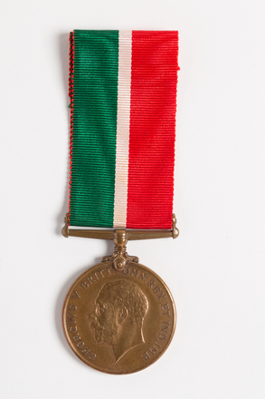 Mercantile Marine War Medal 1914-18, 2000.26.14