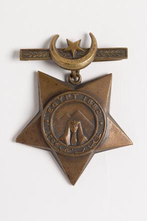 Khedive of Egypt's Star 1882-91, N1098.1
