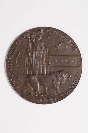 medallion, commemorative W0300a