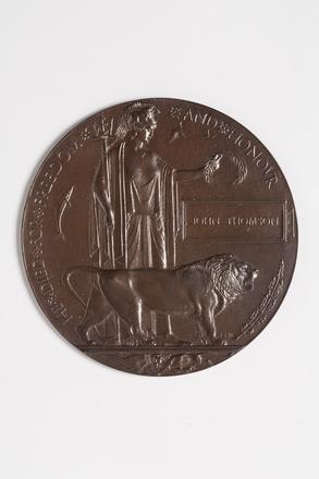 medallion, commemorative W1342