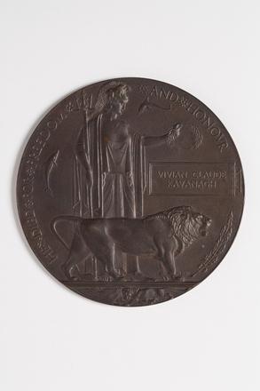 medallion, commemorative W2736