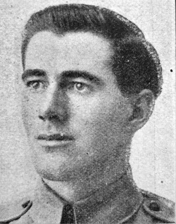 Portrait of Lance Corporal Charles Henry Barker (16370). Image kindly provided by Marlborough memorial project (2009). Image has no known copyright restrictions.