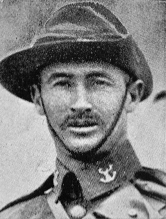 Portrait of Trooper Cecil Feasteronhaugh Berry (7/697). Image kindly provided by Marlborough memorial project (2009). Image has no known copyright restrictions.