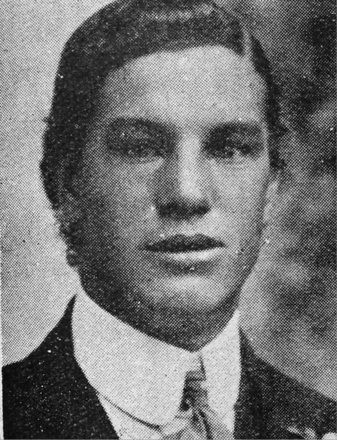 Portrait of Rifleman George  Tetley (24/916). Image kindly provided by Marlborough memorial project (2009). Image has no known copyright restrictions.