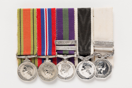 War Medal 1939-45 (miniature), 2001.25.495.2