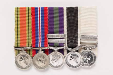 NZ War Service Medal 1939-45 (miniature), 2001.25.495.4