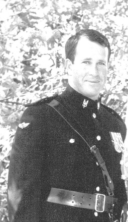 Portrait of Captain Terry Culley. Image kindly provided by Culley family (September 2014). This image may be subject to copyright.