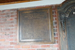 "Roll of Honour for All Saints Ponsonby Road. ""1939-1945 In grateful remembrance of God's Servants"". Image provided by Armoury Volunteer (2014). 25 local service people. Image may be subject to copyright restrictions."