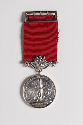 United Fire Brigades Association Long Service Medal, 2001.25.299