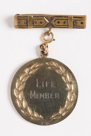 medal, membership, 2001.25.831