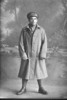 Full length portrait of Private Edmund Duffy. (Photographer: Herman Schmidt, 1916). Sir George Grey Special Collections, Auckland Libraries, 31-D1526. No known copyright.