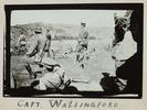 Gillett, Lawrence Henry, photographer (1914-1918). Captain Wallingford. Gillett Album. Auckland War Memorial Museum - Tāmaki Paenga Hira PH-ALB-118p3-7. Image has no known copyright restrictions.