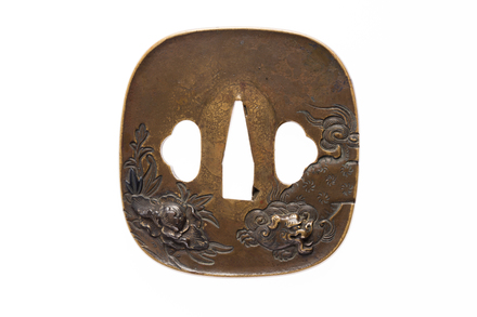 tsuba, M925, Photographed by Andrew Hales, digital, 05 Sep 2016, © Auckland Museum CC BY