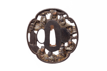 tsuba, M940, Photographed by Andrew Hales, digital, 09 Sep 2016, © Auckland Museum CC BY