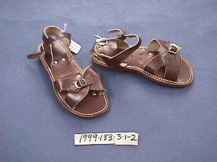 school uniform sandals [1999.183.3]