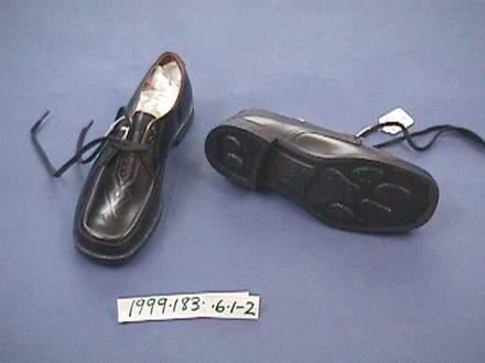 school uniform shoes [1999.183.6]