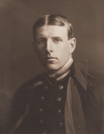 Portrait of Lieut-Commander G H Dennistoun - R.N. - Distinguished Service Order. Archives New Zealand FL20935029. Image has no known copyright restrictions.