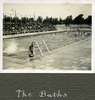 """""""The Baths"""", Photo Album in Egypt of 638 Charles Honori Parks. Image kindly provided by Parks family. Image has no known copyright restrictions."""