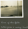"""""""View of the Nile/taken from a moving truck"""", Photo Album in Egypt of 638 Charles Honori Parks. Image kindly provided by Parks family. Image has no known copyright restrictions."""