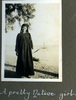 """""""A pretty Native girl"""", Photo Album in Egypt of 638 Charles Honori Parks. Image kindly provided by Parks family. Image has no known copyright restrictions."""