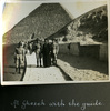 """""""At Ghezeh with the guide"""", Photo Album in Egypt of 638 Charles Honori Parks. Image kindly provided by Parks family. Image has no known copyright restrictions."""