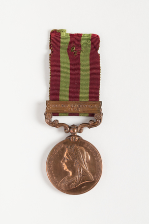 medal, campaign, N1330, S116, Photographed by Dani Lucas (Auckland City), digital, 09 Nov 2016, © Auckland Museum CC BY