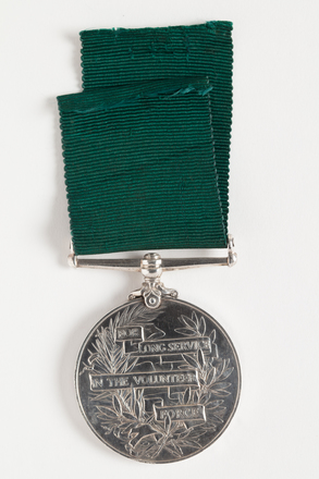 medal, long service, N1353, Photographed by Dani Lucas , digital, 10 Nov 2016, © Auckland Museum CC BY