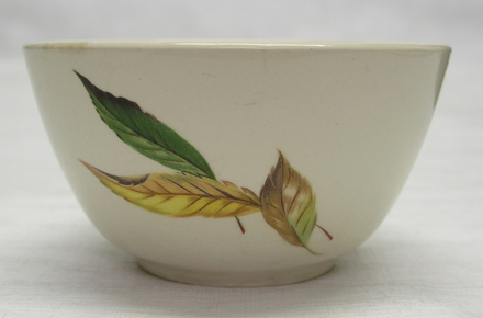 bowl, golden fall