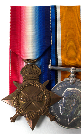 medal, campaign, 1914-15 star