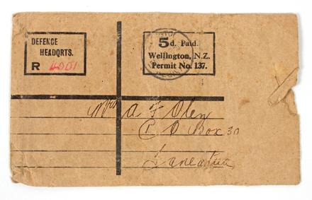 envelope, postal medal