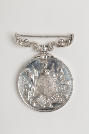 medal, long service, N1648, Photographed by: Rohan Mills, photographer, digital, 05 Jan 2017, © Auckland Museum CC BY
