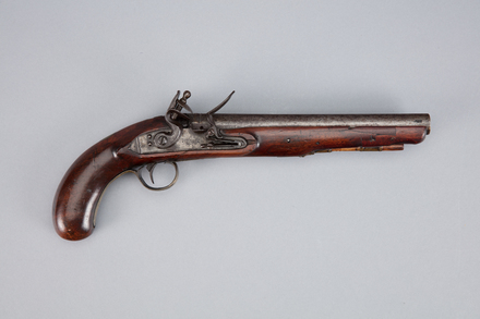 pistol, flintlock, W1825, Photographed by Richard NG, digital, 10 Jan 2017, © Auckland Museum CC BY
