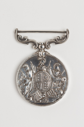 medal, long service, N1641, Photographed by: Rohan Mills, photographer, digital, 12 Jan 2017, © Auckland Museum CC BY