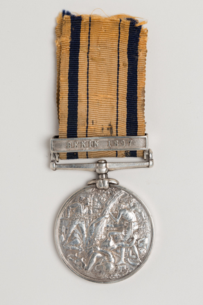 medal, campaign, N1734, S111, Photographed by Ben Abdale-Weir, digital, 12 Jan 2017, © Auckland Museum CC BY