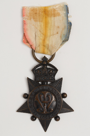 medal, campaign, 1929.364, N1733, S104, Photographed by Ben Abdale-Weir, digital, 12 Jan 2017, © Auckland Museum CC BY