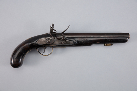 pistol, 1997x2.259, Lord #3, Photographed by Richard NG, digital, 13 Jan 2017, © Auckland Museum CC BY