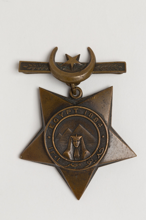 medal, campaign, N1784, S107, Photographed by: Rohan Mills, photographer, digital, 16 Jan 2017, © Auckland Museum CC BY