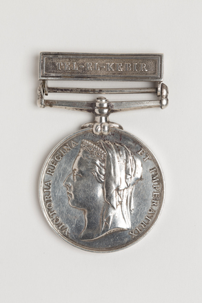 medal, campaign, N1782, S106, Photographed by: Rohan Mills, photographer, digital, 16 Jan 2017, © Auckland Museum CC BY