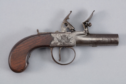 pistol, conversion, 1959.21, W1360, W1552, Photographed by Richard NG, digital, 19 Jan 2017, © Auckland Museum CC BY