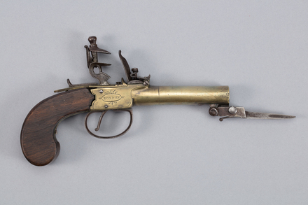 pistol, flintlock, 1959.21, W1362, Photographed by Richard NG, digital, 18 Jan 2017, © Auckland Museum CC BY