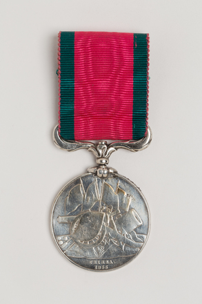 medal, campaign, N1800, S092, Photographed by: Rohan Mills, photographer, digital, 18 Jan 2017, © Auckland Museum CC BY