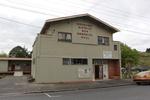 Hikurangi District War Memorial Hall - exterior of building. Image provided by John Halphn 2014. CC BY John Halpin 2014.