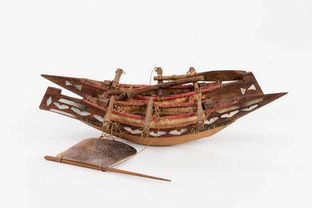 Vaka akaraanga, 1932.557, 18716.2, Photographed by Jennifer Carol, digital, 03 Feb 2017, Cultural Permissions Apply