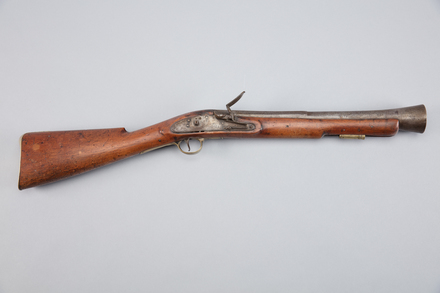 blunderbuss, flintlock, W1427, 10953, Photographed by Richard NG, digital, 27 Feb 2017, © Auckland Museum CC BY