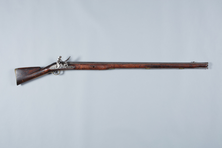 musket, flintlock, W1546, 10940, Photographed by Richard NG, digital, 08 Mar 2017, © Auckland Museum CC BY