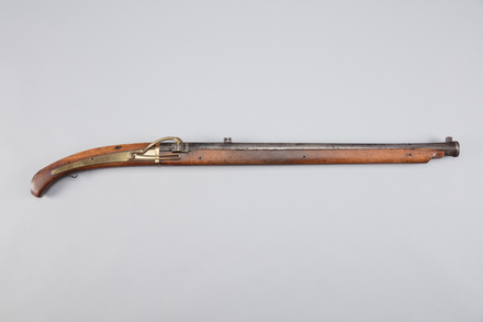 musket, matchlock, W0096, 38005.39, Photographed by Richard NG, digital, 10 Mar 2017, © Auckland Museum CC BY