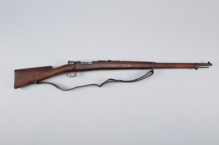 rifle, bolt action, 1990.56, A7129, Photographed by Richard NG, digital, 20 Mar 2017, © Auckland Museum CC BY