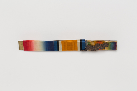 medal ribbon bar, N1957.2, Photographed by: Julia Scott, photographer, digital, 22 Mar 2017, © Auckland Museum CC BY